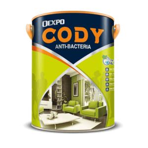 Sơn nội thất kháng khuẩn không mùi Oexpo Cody Anti-Bacteria 1️⃣VN