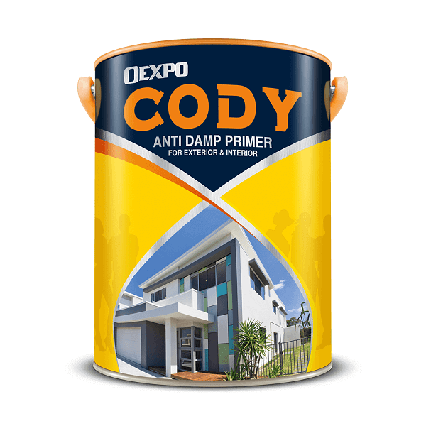 Sơn lót chống thấm ngược Oexpo Cody Anti Damp Primer For Int & Ext