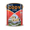 Sơn ngoại thất bền màu tối đa Oexpo Cody UV Shade For Exterior