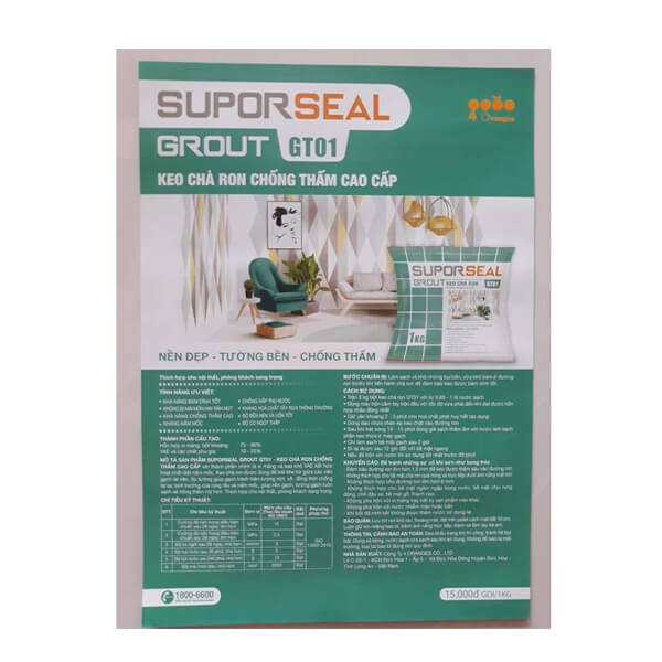 Suporseal Grout GT01