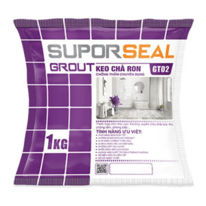 Keo chà ron chống thấm chuyện dụng Suporseal Grout GT02