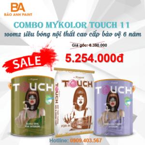 Combo Mykolor Touch 11 sơn nội siêu bóng 1️⃣ giá siêu HOT