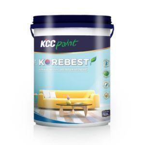 Sơn nội thất KCC Korebest hiệu quả kinh tế cao 1️⃣VN - baoanhpaint.com