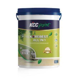 Sơn nội thất bóng mờ cao cấp KCC Korebest All In 1 giá rẻ 1️⃣VN