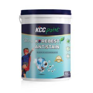 Sơn nội thất chống bám bẩn KCC Korebest Antistain chiết khấu cao 1️⃣VN