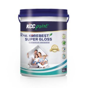 Sơn nội thất cao cấp siêu bóng KCC Korebest Super Gloss 1️⃣VN