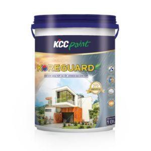 Sơn ngoại thất KCC Koreguard cao cấp bóng mờ sang trọng 1️⃣