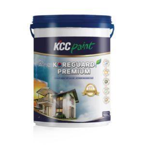 Sơn ngoại thất KCC Koreguard Premium cao cấp bóng mờ 1️⃣VN