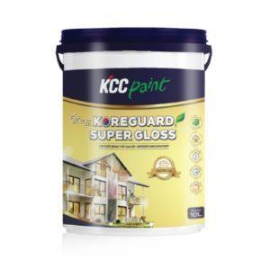 Sơn ngoại thất KCC Koreguard Super Gloss chính hãng 1️⃣VN