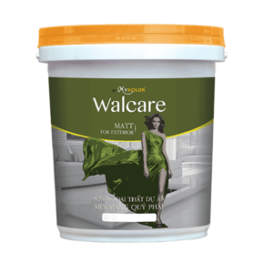 Sơn ngoại thất mịn màng Mykolor Walcare Matt For Exterior 1️⃣VN