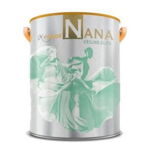 Sơn trắng trần nội thất Mykolor Nana Ceiling Elite