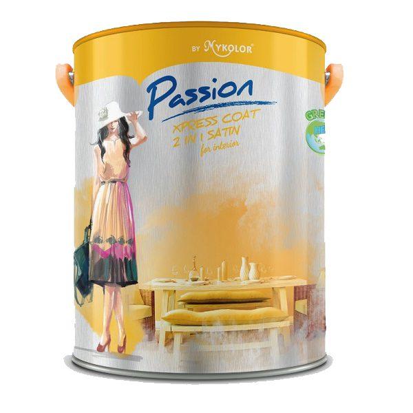Sơn nội thất đa năng Mykolor Passion Xpress Coat 2in1 Matte For Int