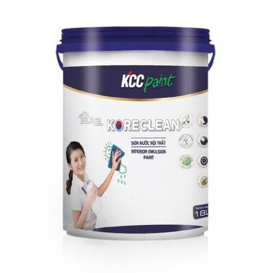 Sơn nội thất mờ lau chùi hiệu quả KCC Koreclean