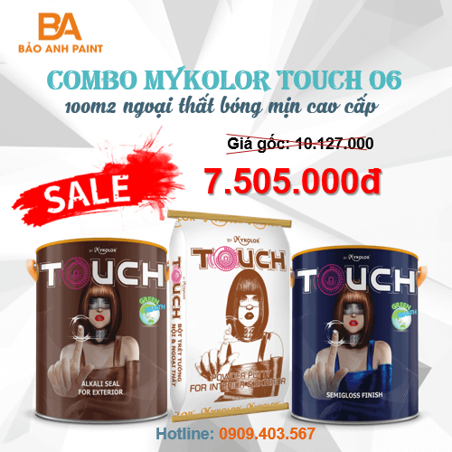 Combo Mykolor Touch 06