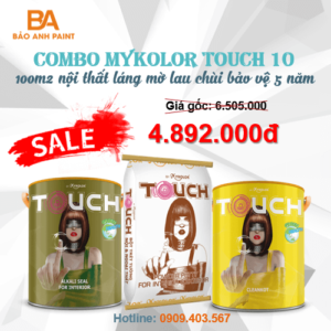 Combo Mykolor Touch 10