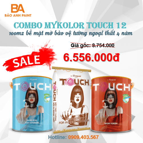 Combo Mykolor Touch 12