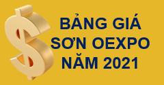 Bảng giá sơn Oexpo năm 2021