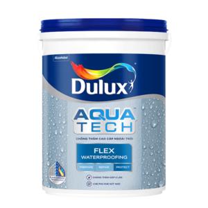 Chất chống thấm Dulux Aquatech Flex W759 sơn chống thấm màu