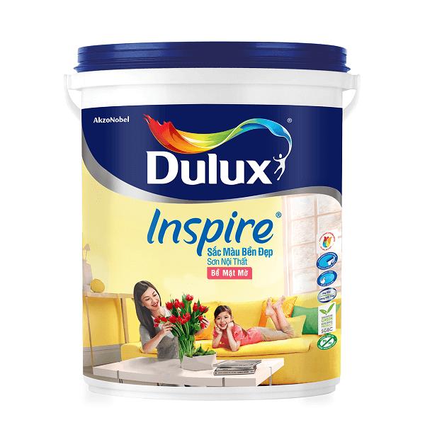Sơn nước nội thất Dulux Inspire 39A bề mặt mờ