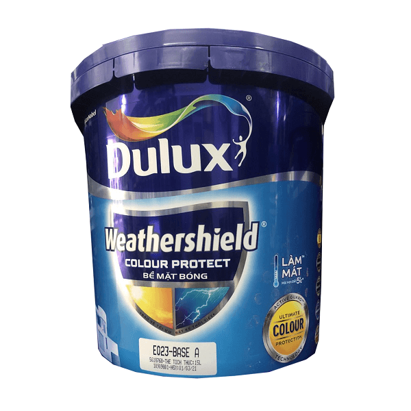Sơn nước ngoại thất Dulux Weathershield Colour Protect E023
